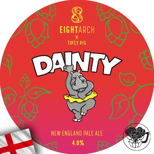 8 Arch - Dainty - 4.8% Pale Ale - Craft Beer KeyKeg (52 Servings) - England Image