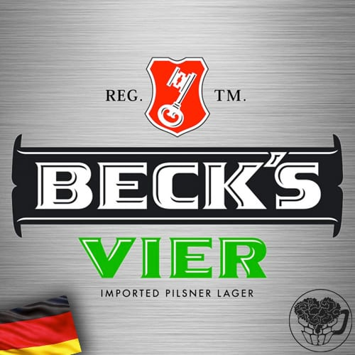 Becks - Vier - 4.7% Lager - Craft Beer Keg (88 Servings) - German Image