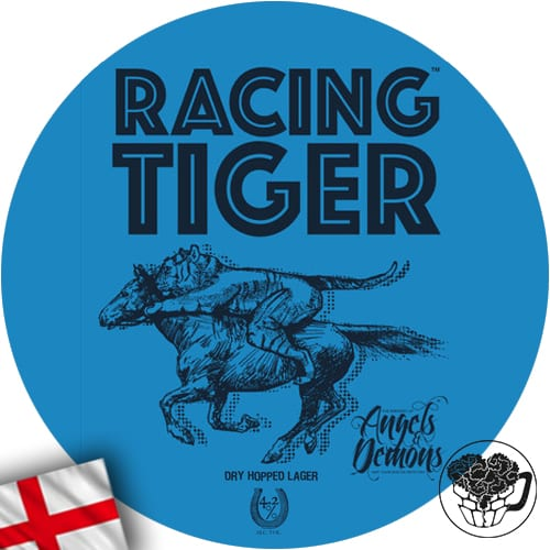 Brewery of Angels & Demons - Racing Tiger - 4.2% Lager - Craft Beer KeyKeg (52 Servings) - England Image