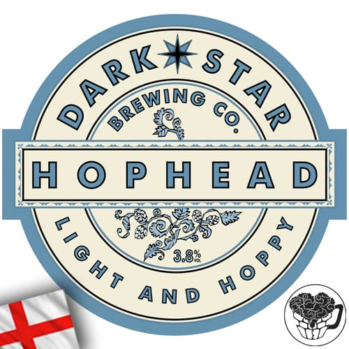 Dark Star - Hophead - 3.8% Pale Ale - Craft Beer KeyKeg (52 Servings) - England Image