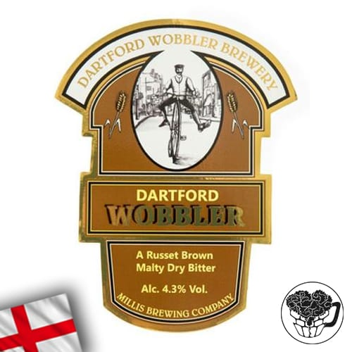 Dartford Wobbler - 4.3% Bitter - Premium Real Ale Cask (70 Servings) - England Image