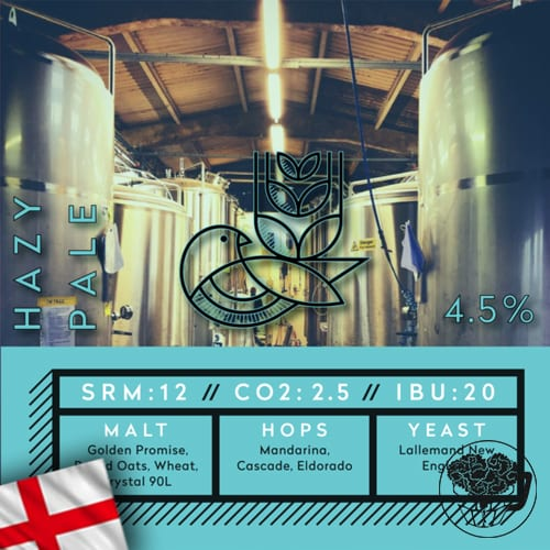 Good Things Brewing - Hazy Pale - 4.5% Pale Ale - Standard Beer KeyKeg (70 Servings) - England Image
