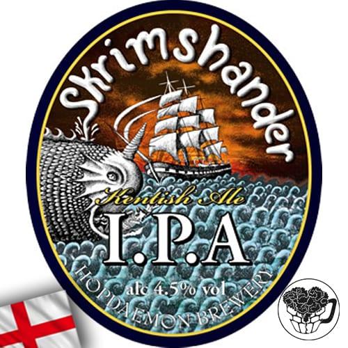 Hop Daemon - Skrimshander - 4.5% IPA - Craft Real Ale Cask (70 pints) - England Image