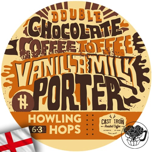 Howling Hops - Double Choc Porter - 6.3% Porter - Craft Beer Keg (52 Servings) - England Image