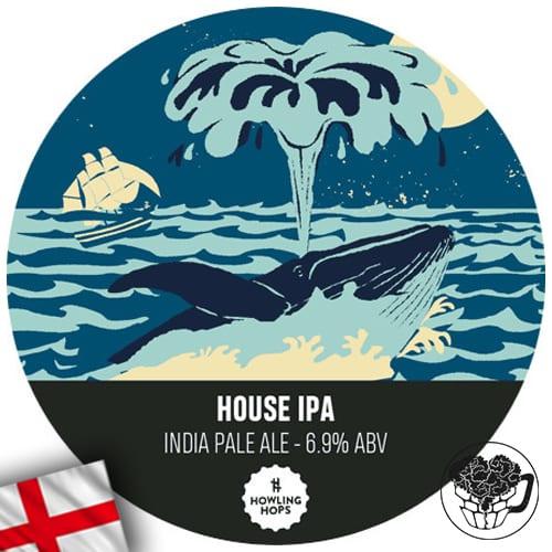 Howling Hops - House IPA - 6.9% IPA - Craft Beer Keg (52 pints) - England Image