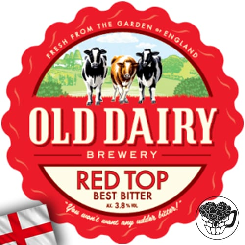 Old Dairy - Red Top - 3.8% Bitter - Premium Real Ale Cask (70 Servings) - England Image