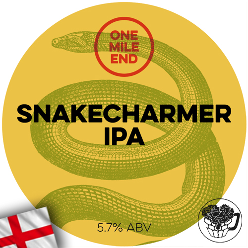 One Mile End - Snakecharmer IPA - 5.7% Pale Ale - Craft Beer Keg (52 Servings) - England Image