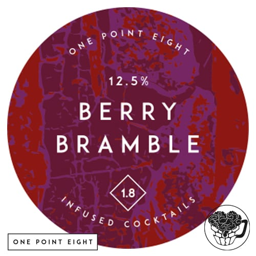 One Point Eight - Berry Bramble - 15.0% Infused Cocktail - Craft Cocktail KeyKeg (160 Servings) - England Image