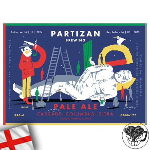 Partizan - Pale Ale - 4.5% Pale Ale - Craft Beer KeyKeg (52 Servings) - England Image