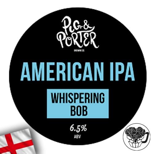 Pig & Porter - Whispering Bob - 6.5% Pale Ale - Premium Beer Keg (70 Servings) - England Image