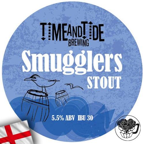 Time & Tide - Smugglers Stout - 5.5% Stout - Craft Beer Keg (54 pints) - England Image