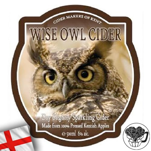 Wise Owl - Dry - 6.0% Cider - Craft Cider KeyKeg (52 Servings) - England Image