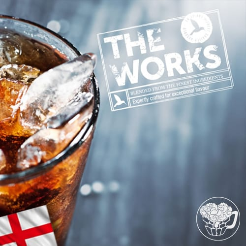 Works - Cola - 0.0% Cordial - Premium Soft Drink KeyKeg (52 Servings) - England Image